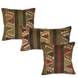 Coussin Nomade Vintage  Multicolore
