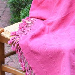 Fouta stone washed rose